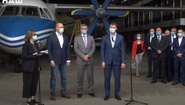 Літаки «Антонов» буде використовувати державна авіакомпанія для регіональних перевезень - Україна, Антонов - 32125
