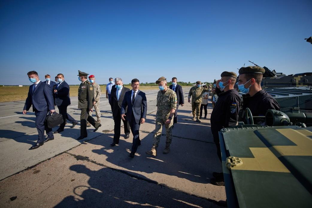 Військову частину у Василькові відвідав президент -  - 517b9c2fecd9063c567eec1b3bc7289b 1598171128 extra large