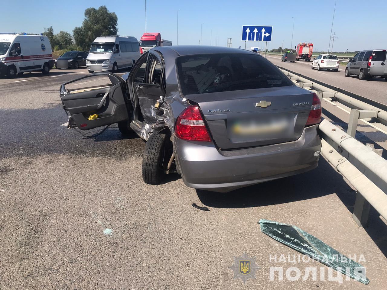 На Васильківщині сталося кілька ДТП: одна людина загинула -  - DTPBezpyatne1