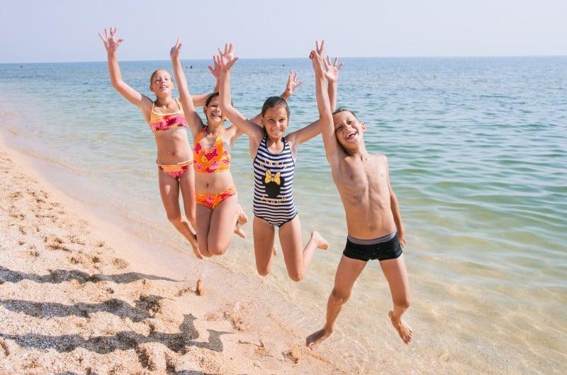 На Вишгородщині стартувала «морська» оздоровча кампанія -  - Dytyachyj vidpochynok