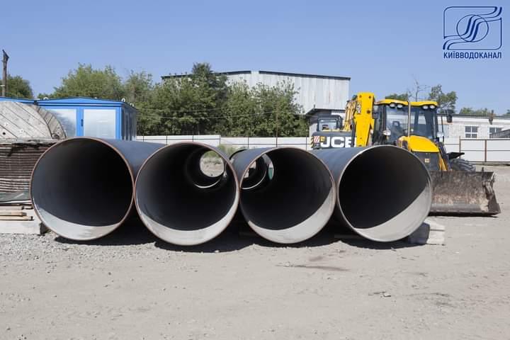Каналізація під Дніпром: у Києві ремонтують труби для стоків з правого берега -  - FB IMG 1598424720871