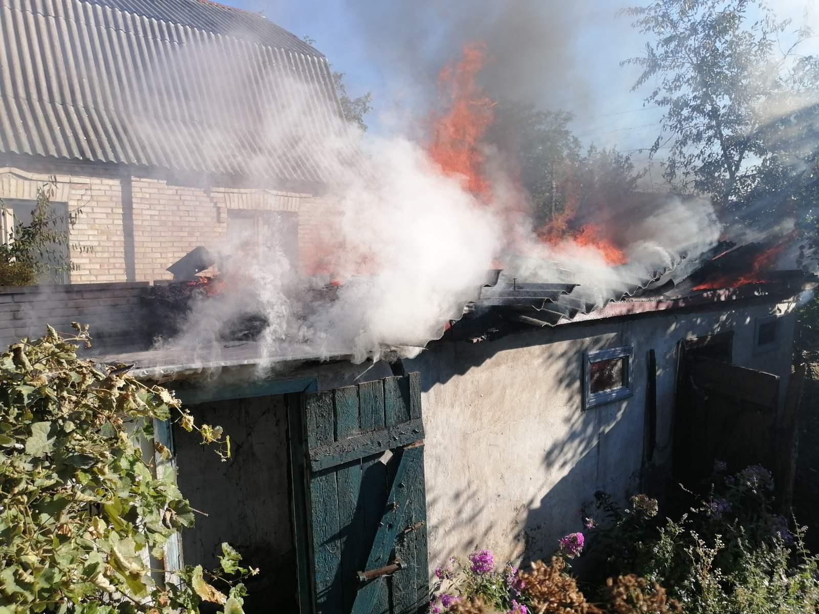 На вихідних у Києво-Святошинському районі сталося дві пожежі - пожежа, Києво-Святошинський район, авто - IMG c382e4312450f51585cb4efcd53dc702 V