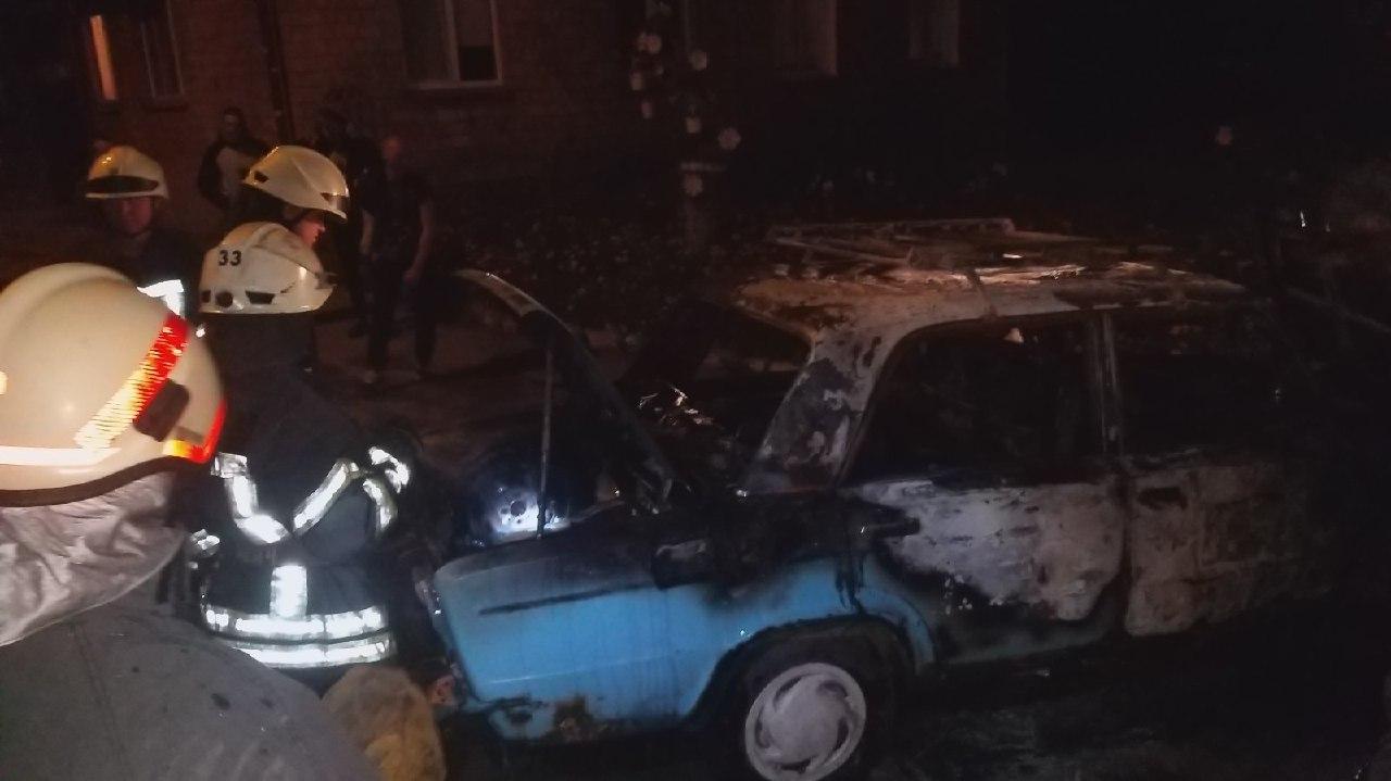 На вихідних у Києво-Святошинському районі сталося дві пожежі - пожежа, Києво-Святошинський район, авто - IMG 20200817 095743 127