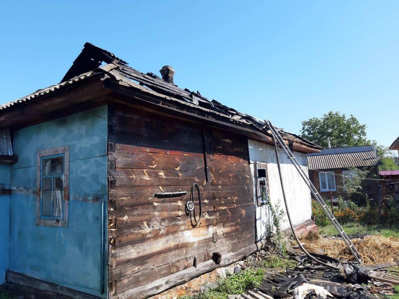 30 серпня на Вишгородщині горів будинок -  - Pozhezha