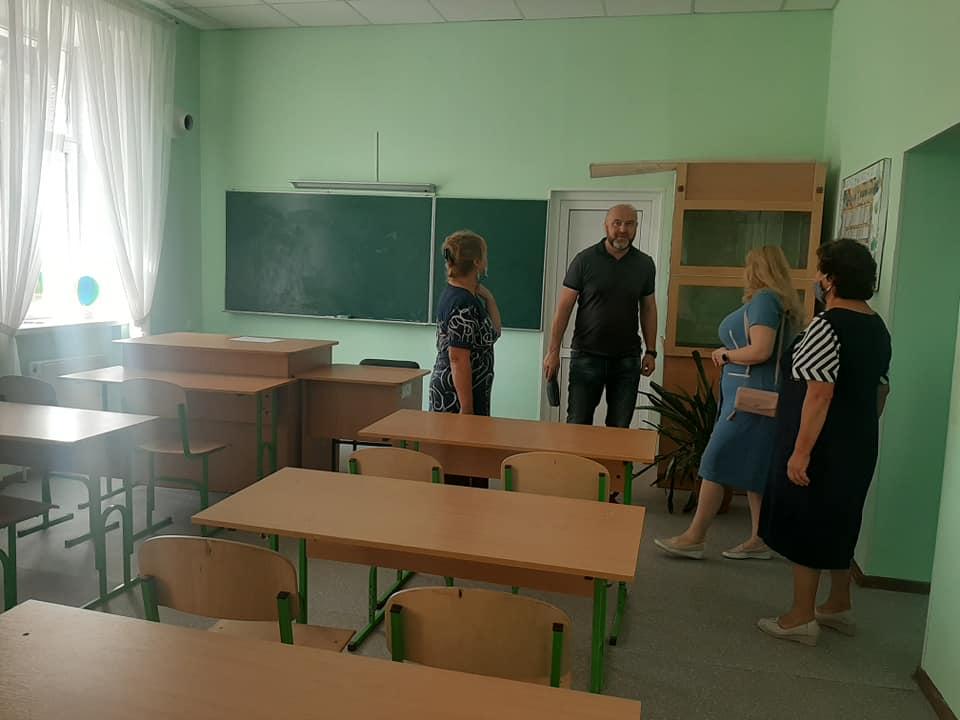 На Вишгородщині перевіряють школи і садочки - Освіта, новий навчальний рік, київщина, Вишгородський район - SHkola7
