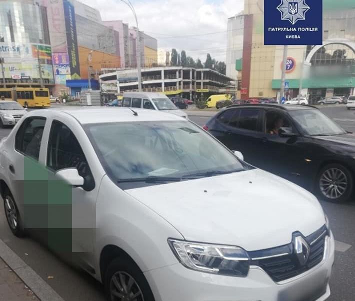 У Києві таксист і його пасажир «ловили кайф» -  - SHpryts1 obr