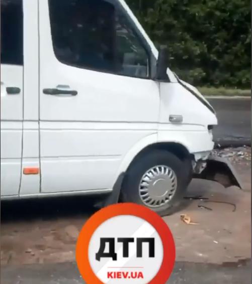 Кілька аварій сталося на Білоцерківщині, одна за участю маршрутки -  - Screenshot 21 1