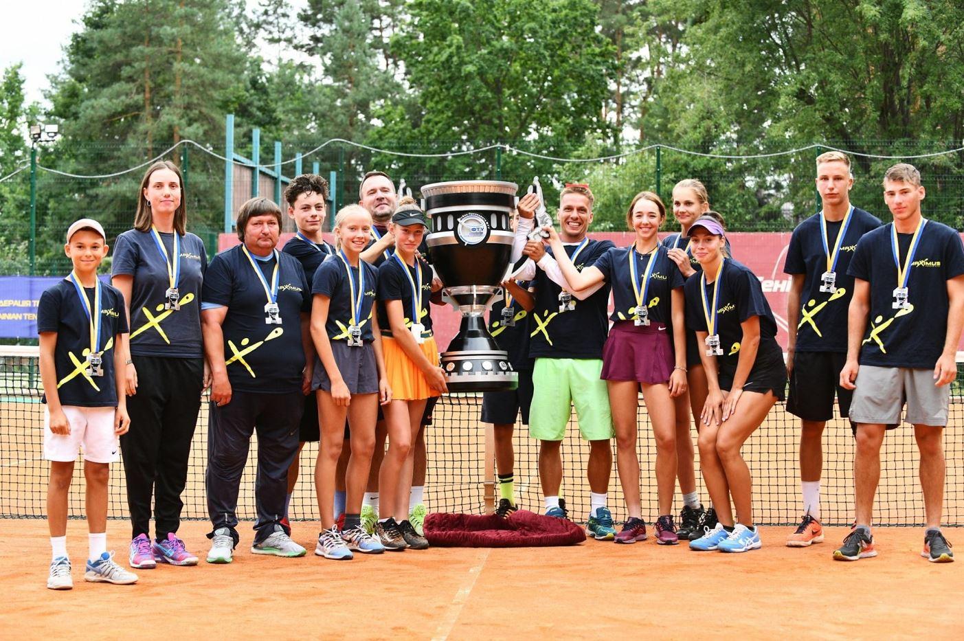Тенісний Ірпінь: дніпровський «MAXIMUS» – переможець першого Кубка президента ФТУ - теніс, спортивний турнір, спорт, Приірпіння, київщина, ірпінь, Дніпро - Ten Kub 0