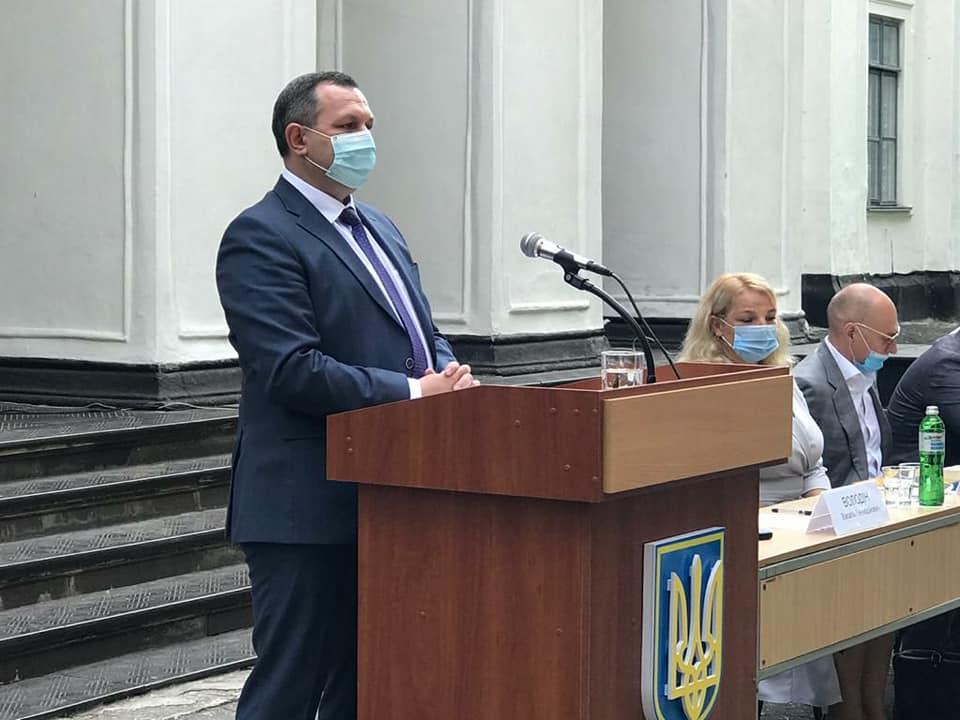 На Білоцерківщині – нова очільниця району -  - VOlodin BTS1