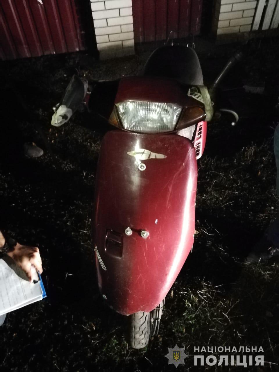 Зловмиснику, що викрав мопед на Обухівщині світить до 5 років -  - eujy1
