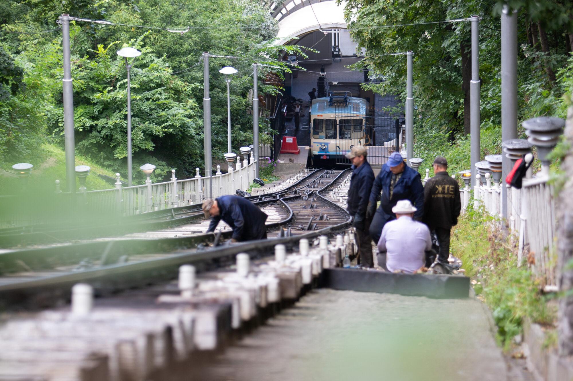 У столиці оновлюють фунікулер - Київ - imgbig 1 2 2000x1329