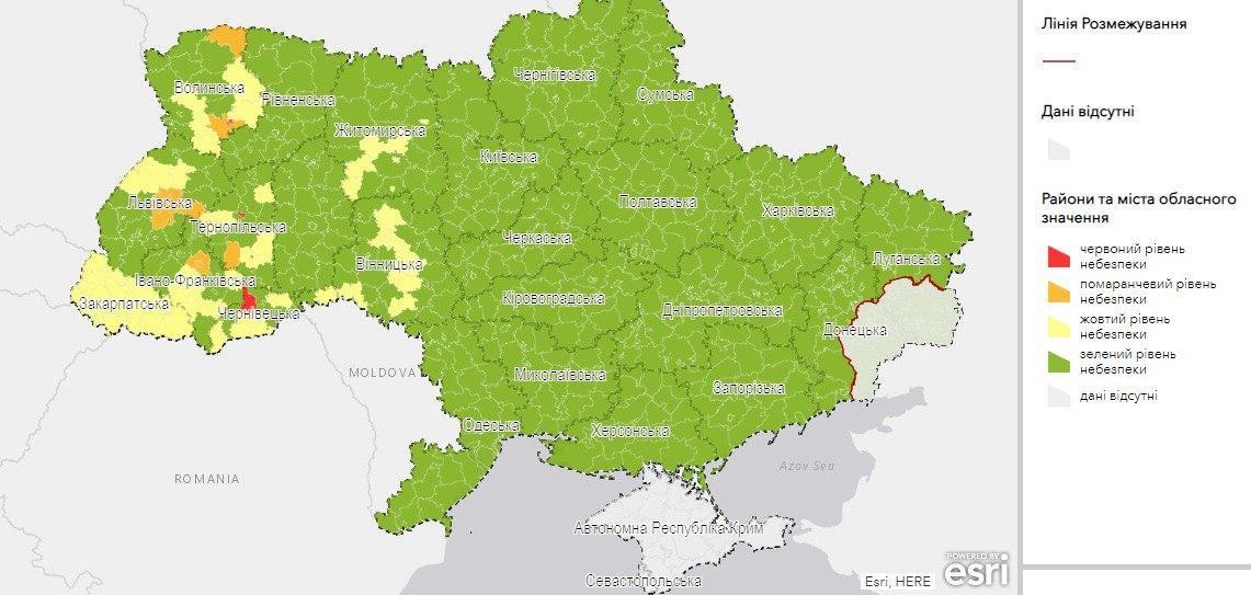 Україну поділили на карантинні зони: найбільший рівень поширення COVID-19 – у трьох регіонах - МОЗ України, коронавірус - photo 2020 07 31 18 28 22