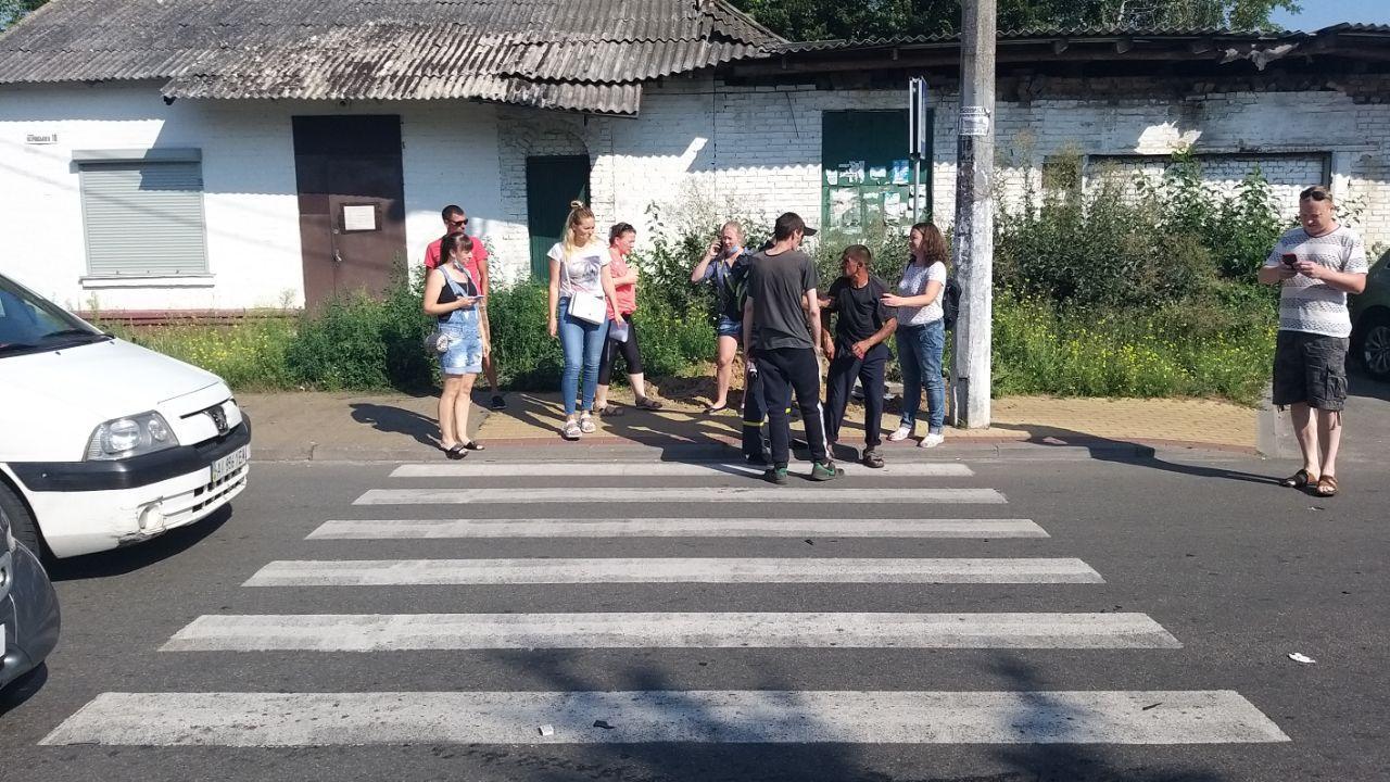 У Бучі на пішохідному переході збили людину - Погляд - photo 2020 08 07 09 43 23