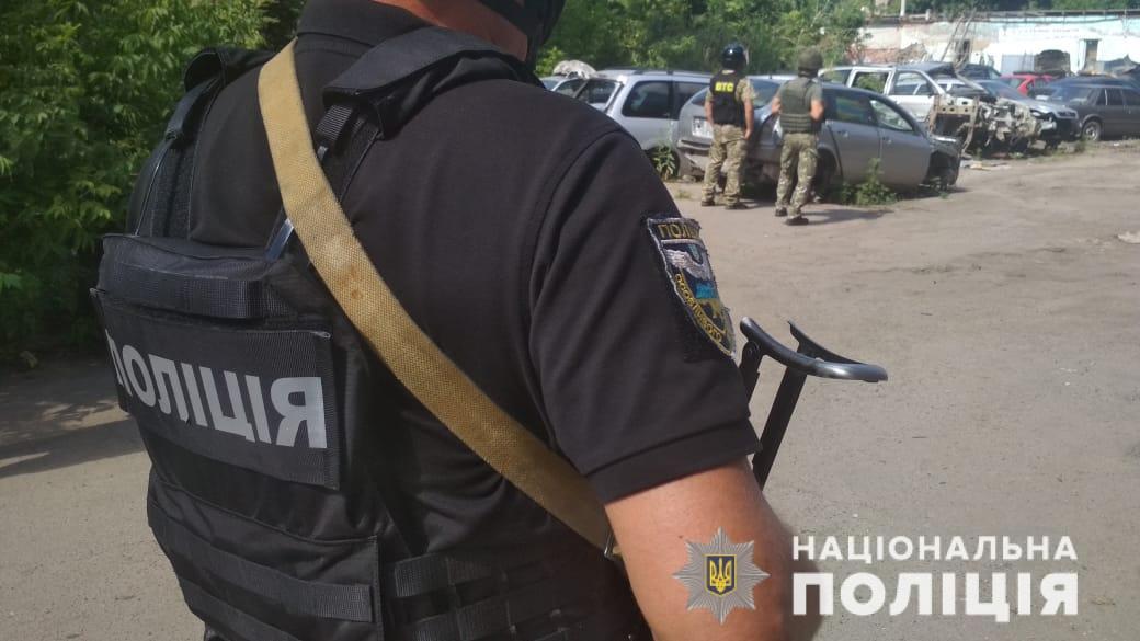 Полтавського терориста розшукали і застрелили - Національна поліція - poltava spetsoperatsia