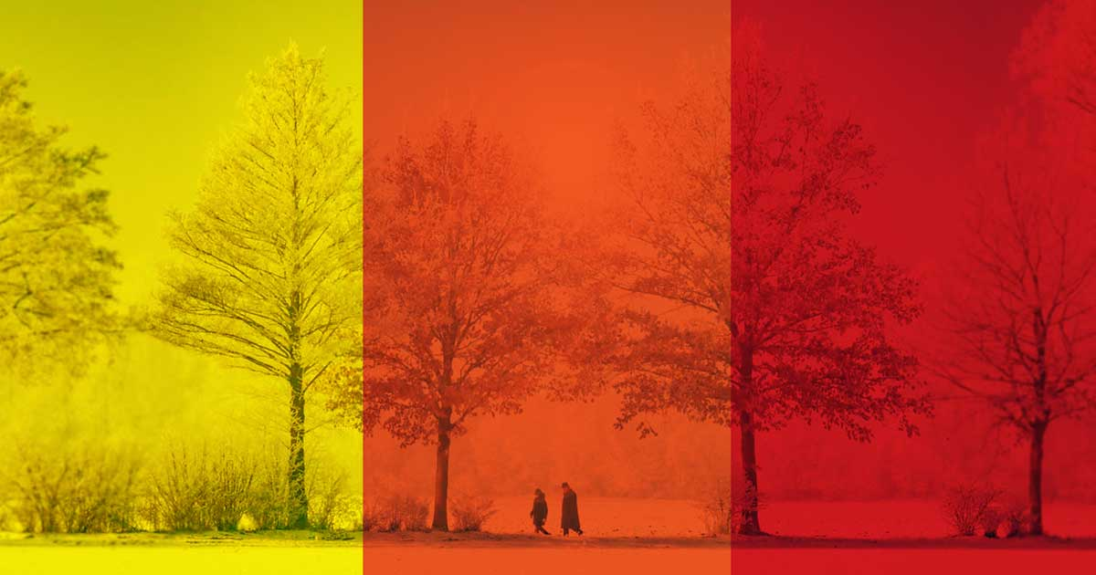 Новий список «жовтих», «помаранчевих» та «червоних» карантинних зон - коронавірус - weather alert colours