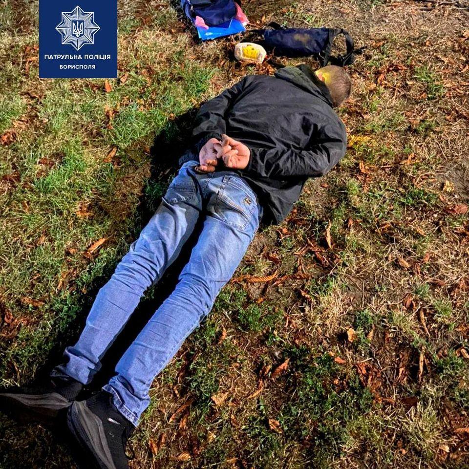 Бориспільці спіймали грабіжника - поліція Борисполя, крадіжка - 118697946 2793039764251141 8089786936682610422 o