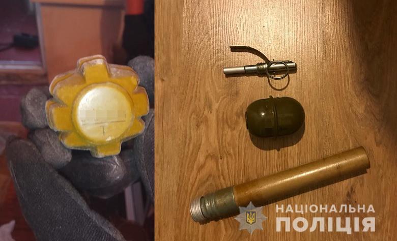 У двох мінерів столичного офісу знайшли цілий арсенал зброї -  - 118875939 3260112874044461 56983016743209268 n