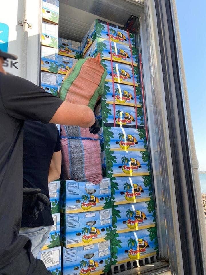 «Кокс» у бананах: до України морем завезли 112 кг наркотиків -  - 119064209 206454794203006 4240638461718755802 n
