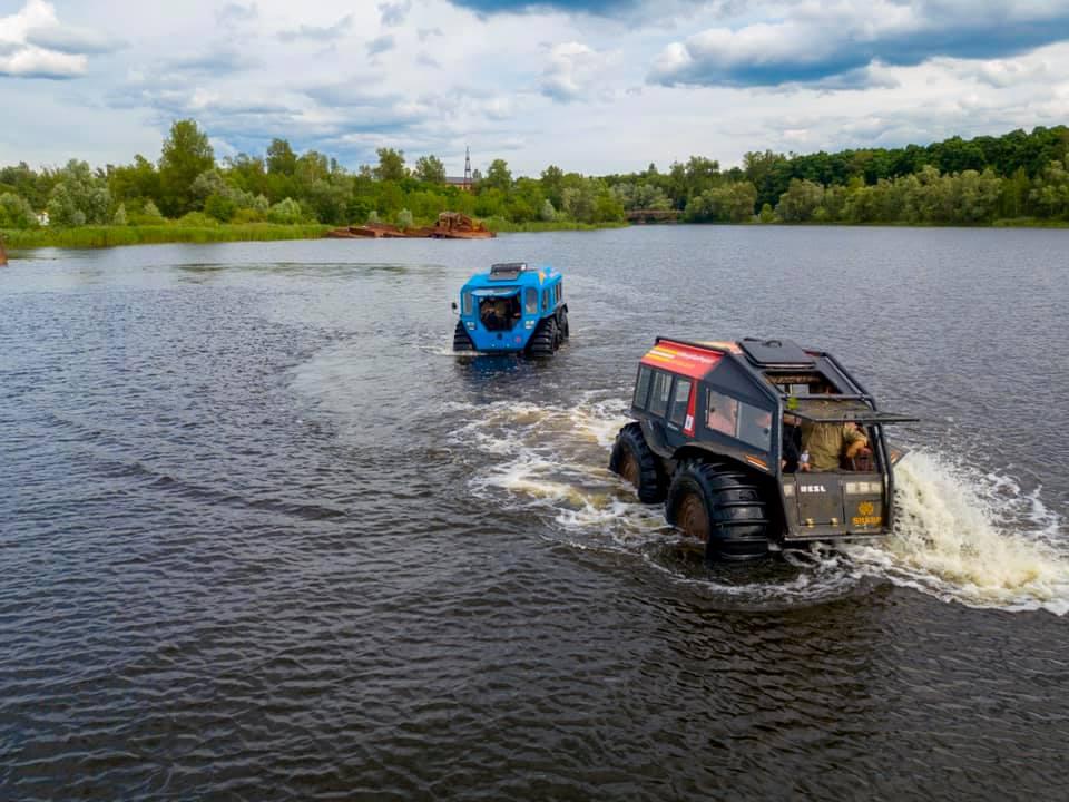 У зоні ЧАЕС відкрито туристичний маршрут на всюдиходах - Чорнобильська зона, ЧАЕС, туризм, Зона відчуження - 119096363 997858097293184 8791386485755061643 n