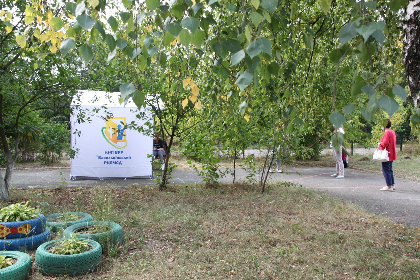 У Василькові відкрився мобільний пункт для ПЛР-тестування на COVID-19 - коронавірус - 119131517 2969155153189231 7961272557480986902 o