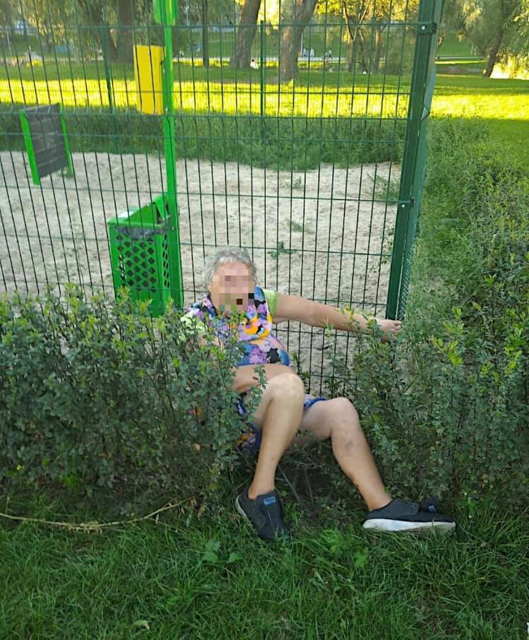 Київським парком бігала бабуся-єксгібіціоністка - парк, бабуся - 119164016 1560157800823575 2422320699839744879 n