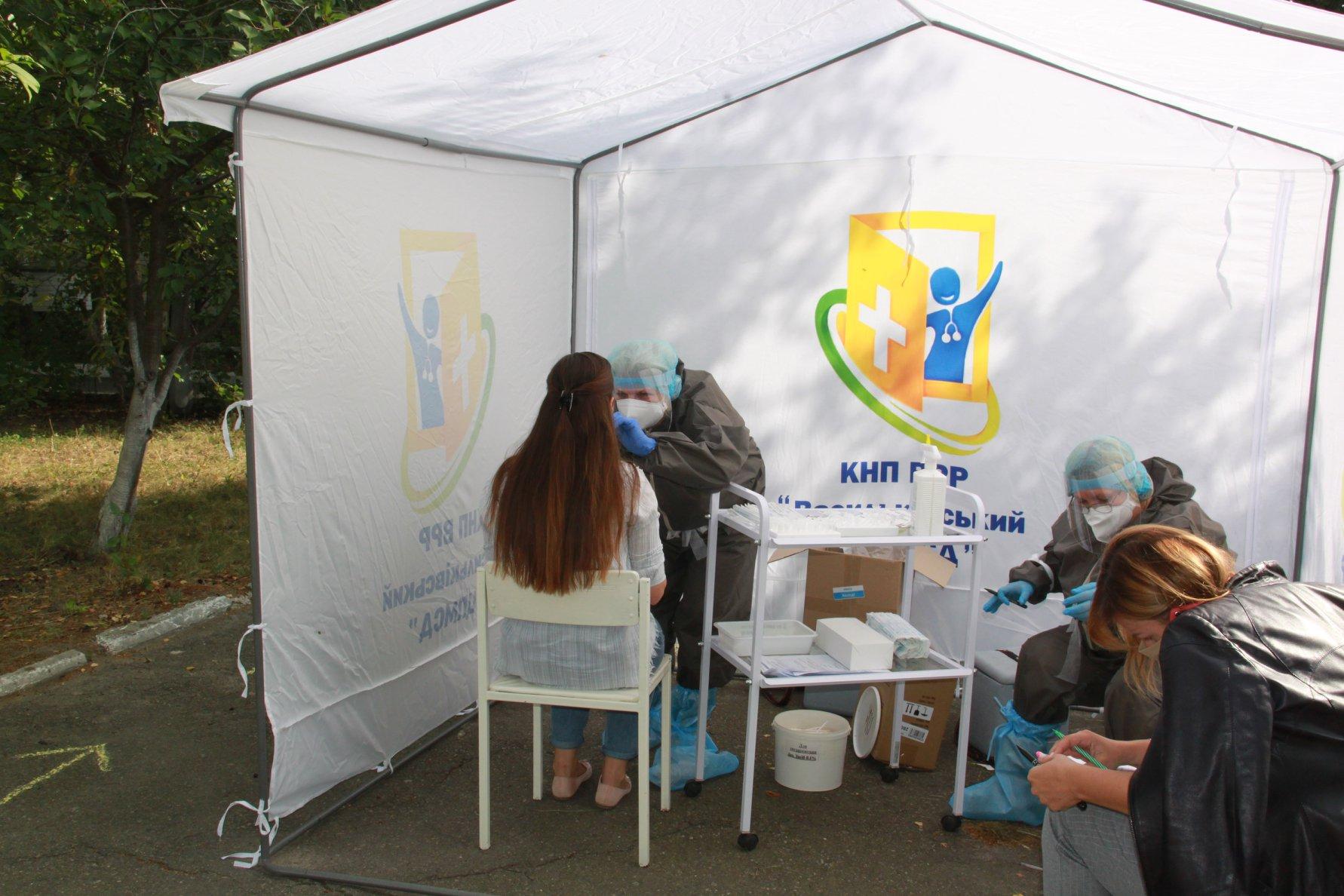 У Василькові відкрився мобільний пункт для ПЛР-тестування на COVID-19 - коронавірус - 119182794 2969155079855905 2016824964888932433 o