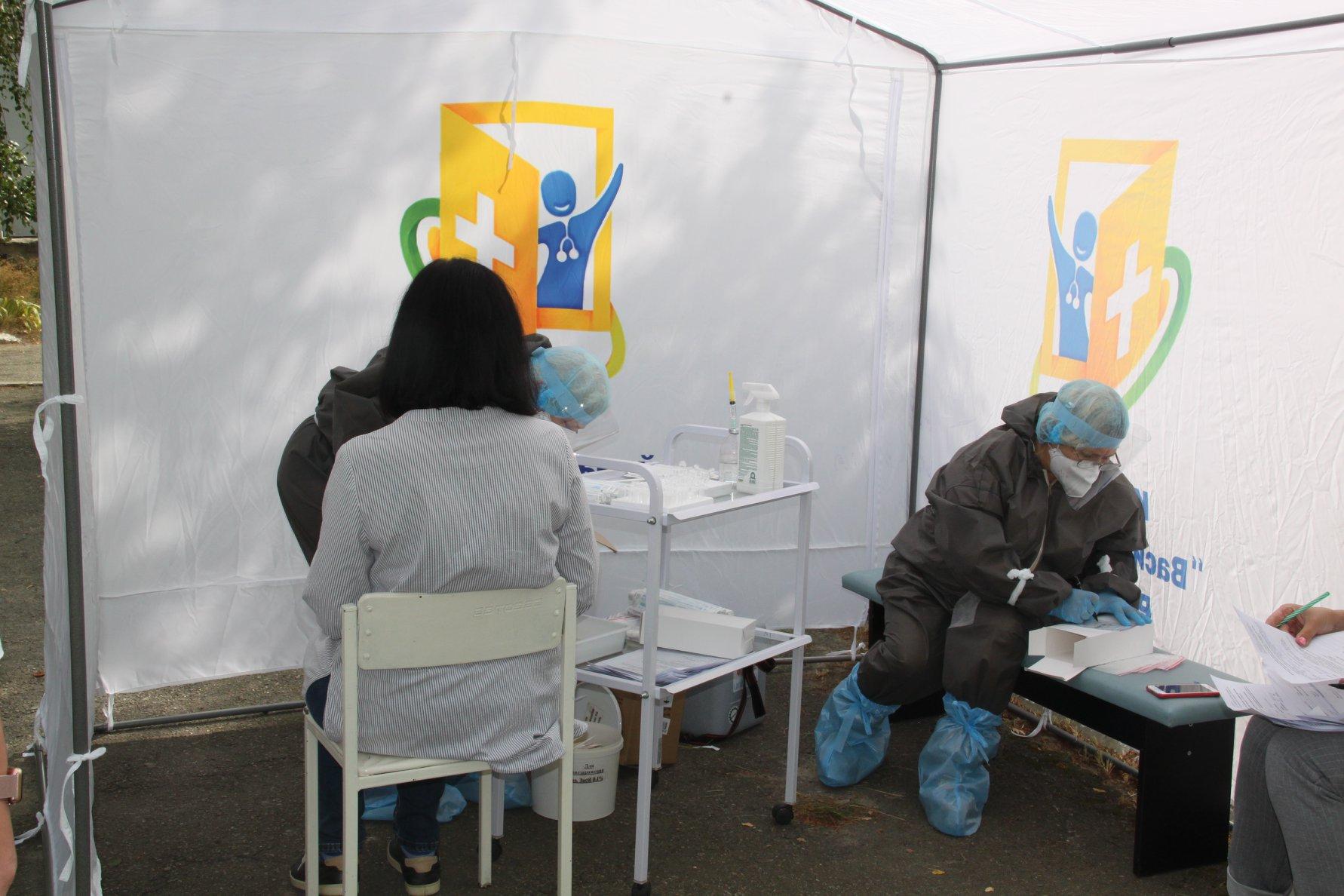 У Василькові відкрився мобільний пункт для ПЛР-тестування на COVID-19 - коронавірус - 119218437 2969154853189261 4645560845338477118 o
