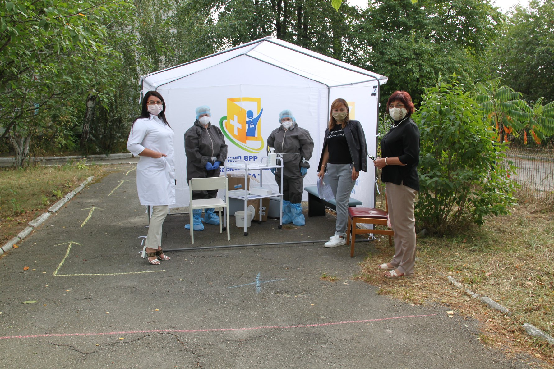 У Василькові відкрився мобільний пункт для ПЛР-тестування на COVID-19 - коронавірус - 119588634 2969160693188677 8202044313862921557 o