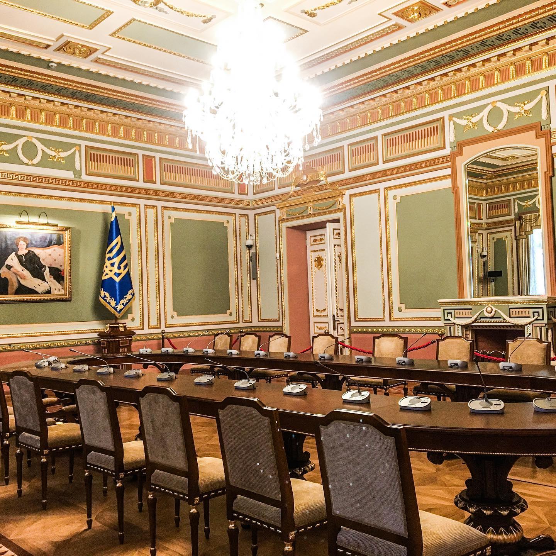 У Києві після ремонту відкрився Маріїнський палац - Реставрація, екскурсії - 119654558 2072573236208539 5172701970528466455 o