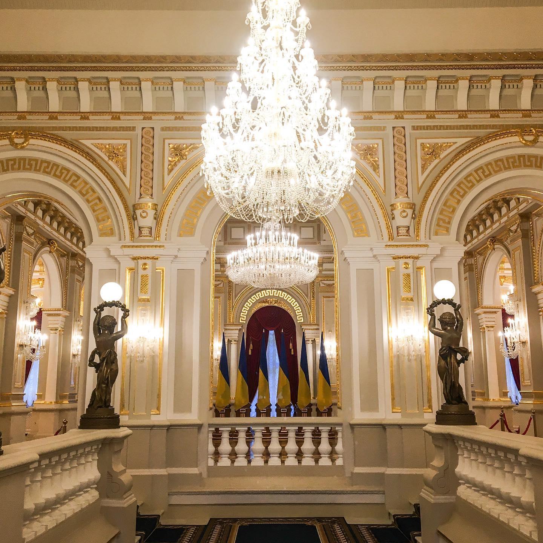 У Києві після ремонту відкрився Маріїнський палац - Реставрація, екскурсії - 119793041 2072573239541872 3858631690581845295 o