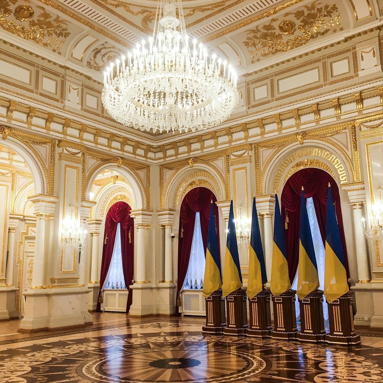У Києві після ремонту відкрився Маріїнський палац - Реставрація, екскурсії - 119920535 2072573252875204 1219598638267088772 o