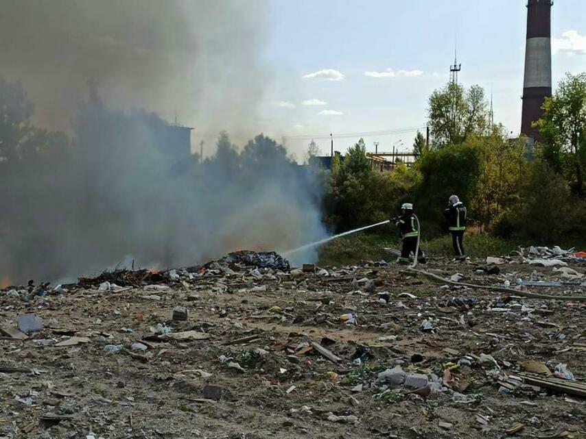 Жителям Дарницького району радять не виходити з дому - торф'яна пожежа, пожежники, Дарницький район - 120016973 3374301419303956 2693229974304576731 n
