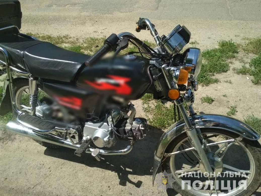 Крадія скутера з Богуславського району затримали на Харківщині - скутер, крадіжка, викрадач - 12 mototsykl