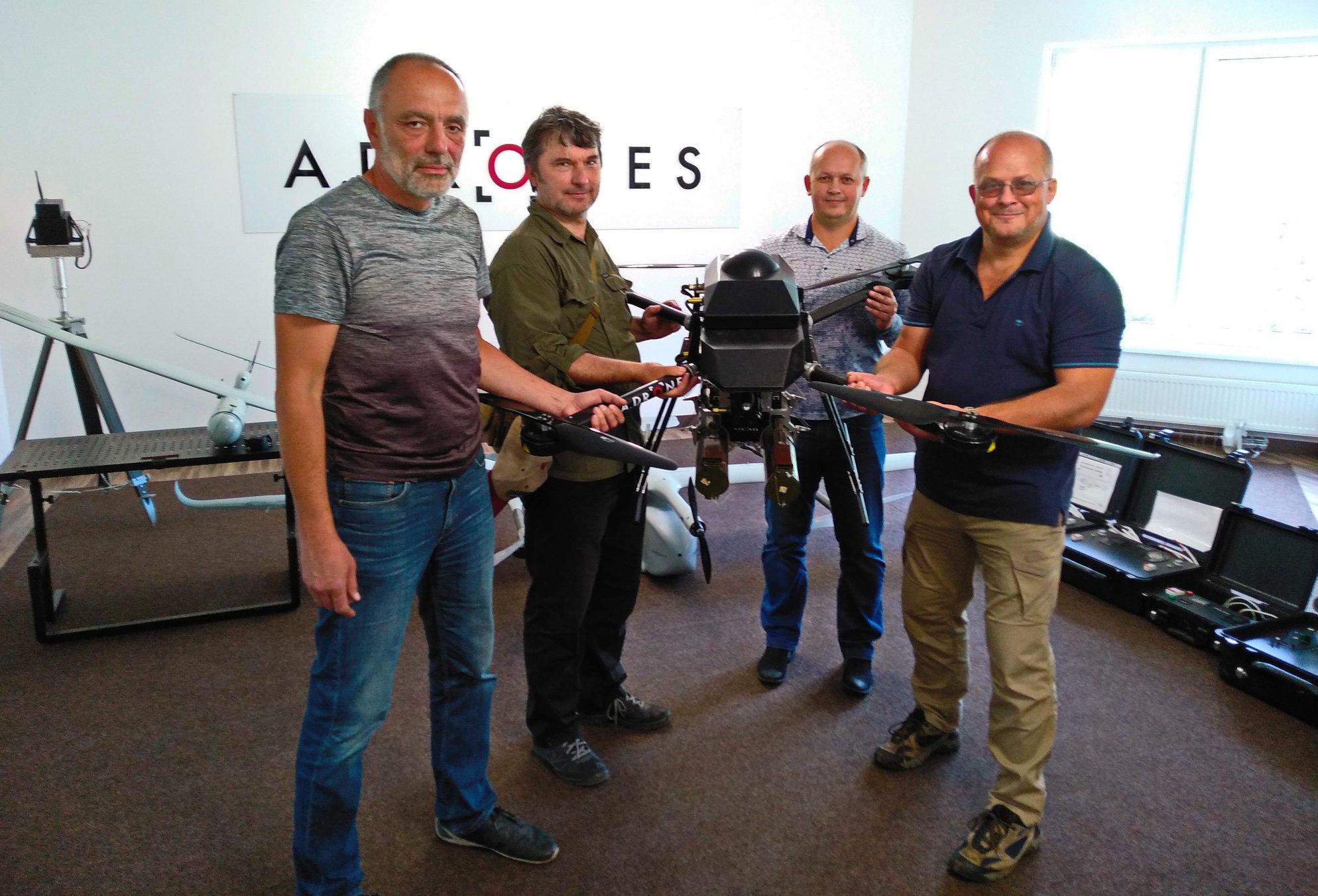 Дрони та роботи допоможуть вивчати флору та фауну Чорнобиля - Чорнобильський заповідник - 14 drony2