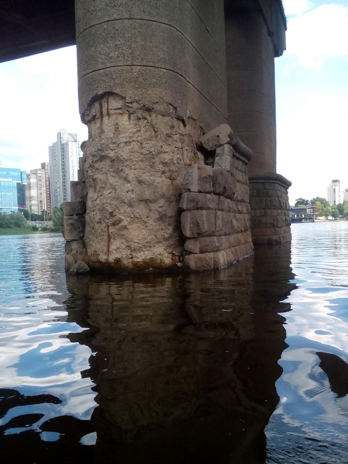 Кличко повідомив про хід робіт з реконструкції моста Патона - Ремонт, міст - 1533733713 4075