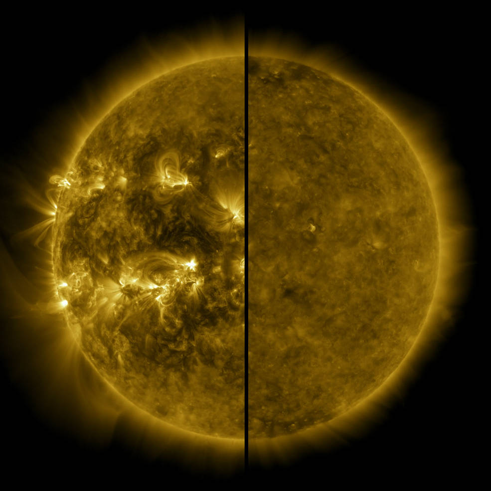 NASA повідомило про початок нового сонячного циклу - Сонце, НАСА NASA, магнітні бурі, Артеміда - 16 sontse