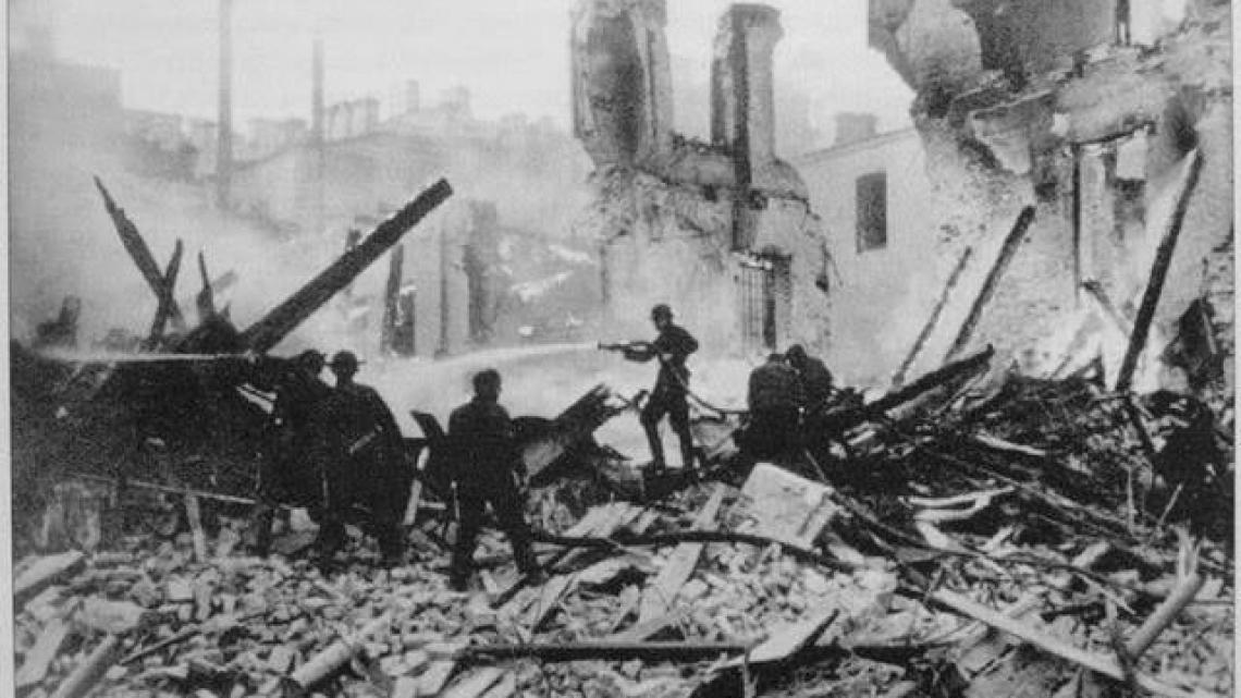 Київ у вогні: хто знищив центр міста у вересні 1941 року - столиця, руйнування - 195185