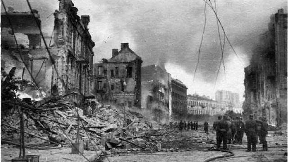 Київ у вогні: хто знищив центр міста у вересні 1941 року - столиця, руйнування - 195186