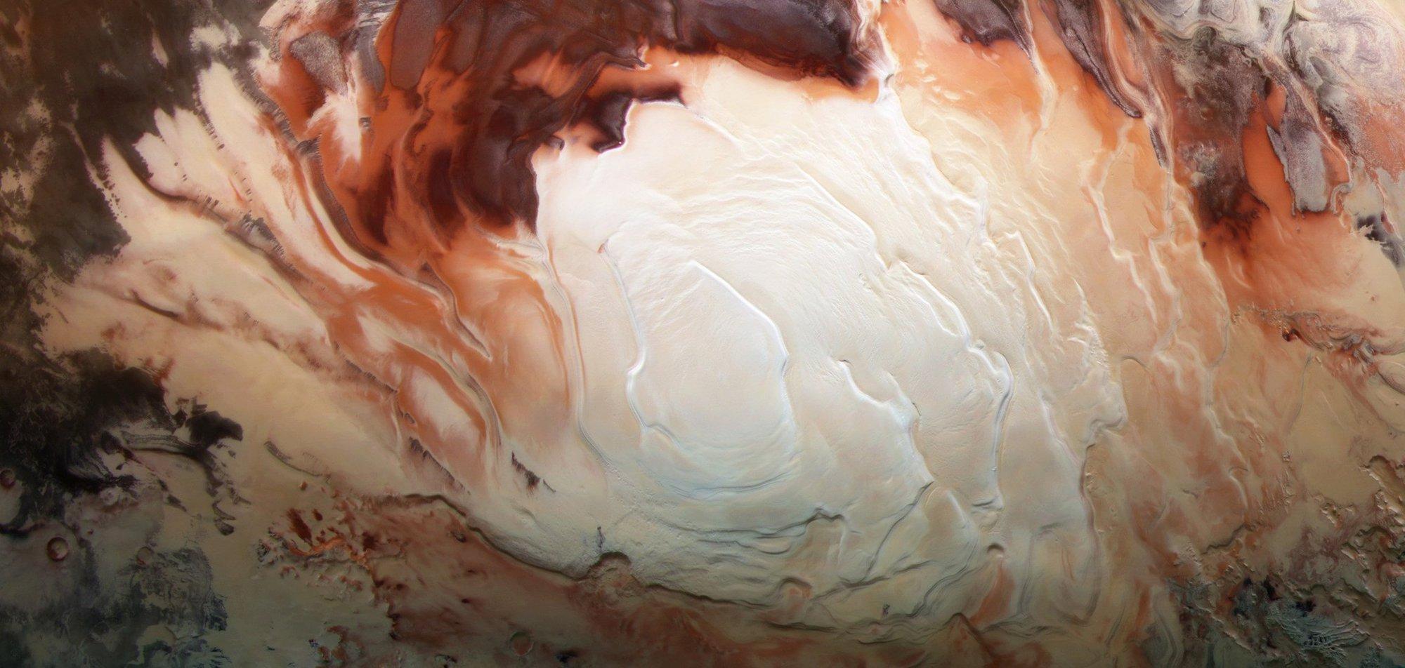Під поверхнею Марса знайшли цілу мережу прихованих озер з рідкою водою - Червона планета, Сонячна система, позаземне життя, Марс - 29 mars