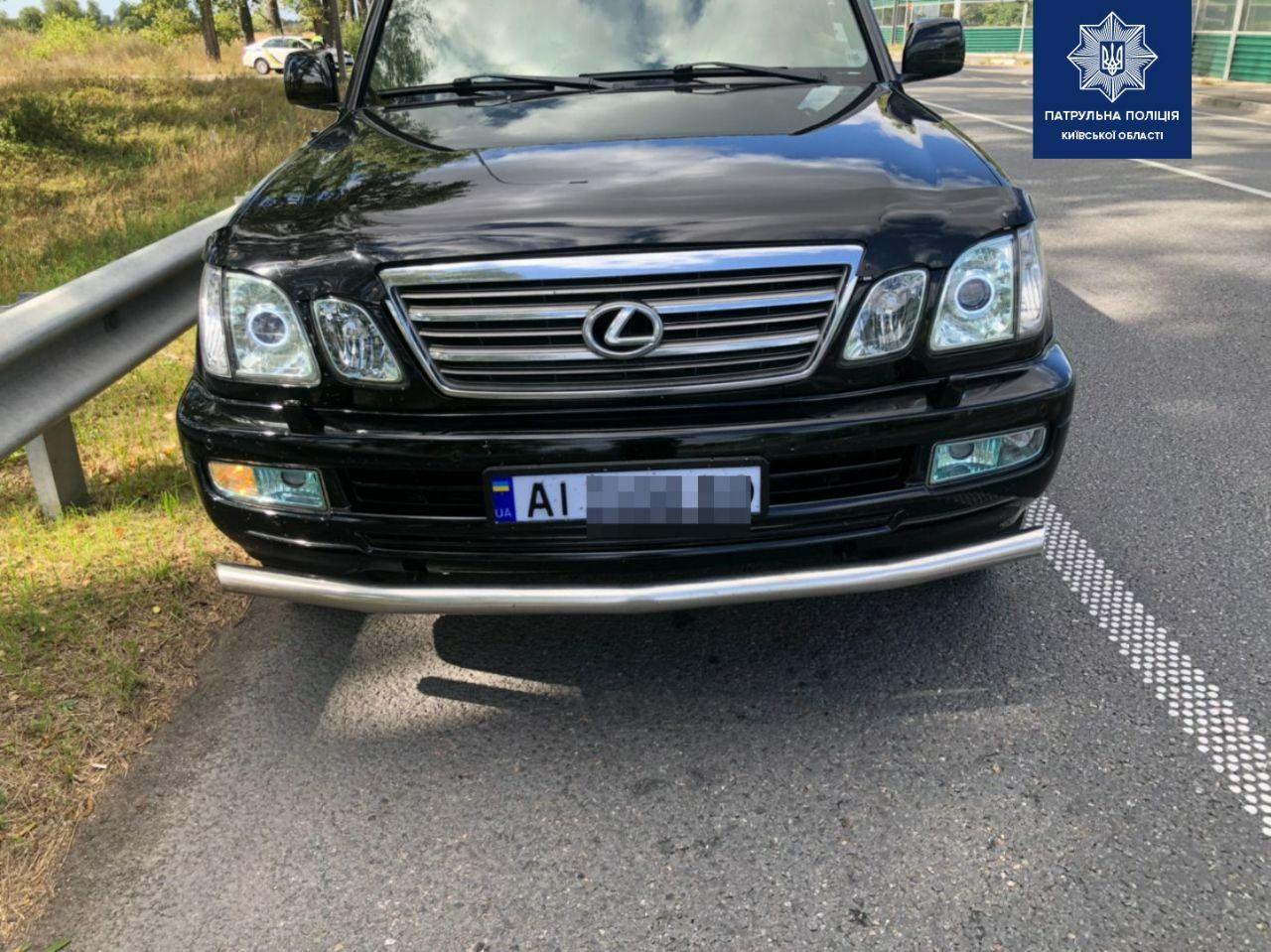 Плата за «красу»: скільком водіям на Київщині виписали штраф за 3D номерні знаки? - водій, автомобіль - 29 nomernoj znak
