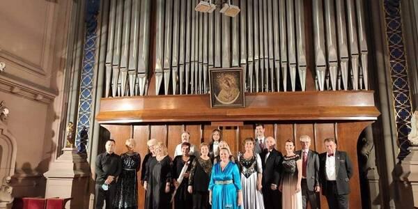 Вперше після оголошення карантину в столиці лунали мелодії органу -  - 5f636f114e189