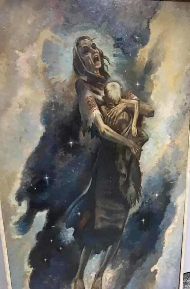У столичному музеї діє ескпозиція відомої картини про Голодомор - Голодомор, виставка - 822809730a1c0c73eb85b9fa6ba52dbae6089000