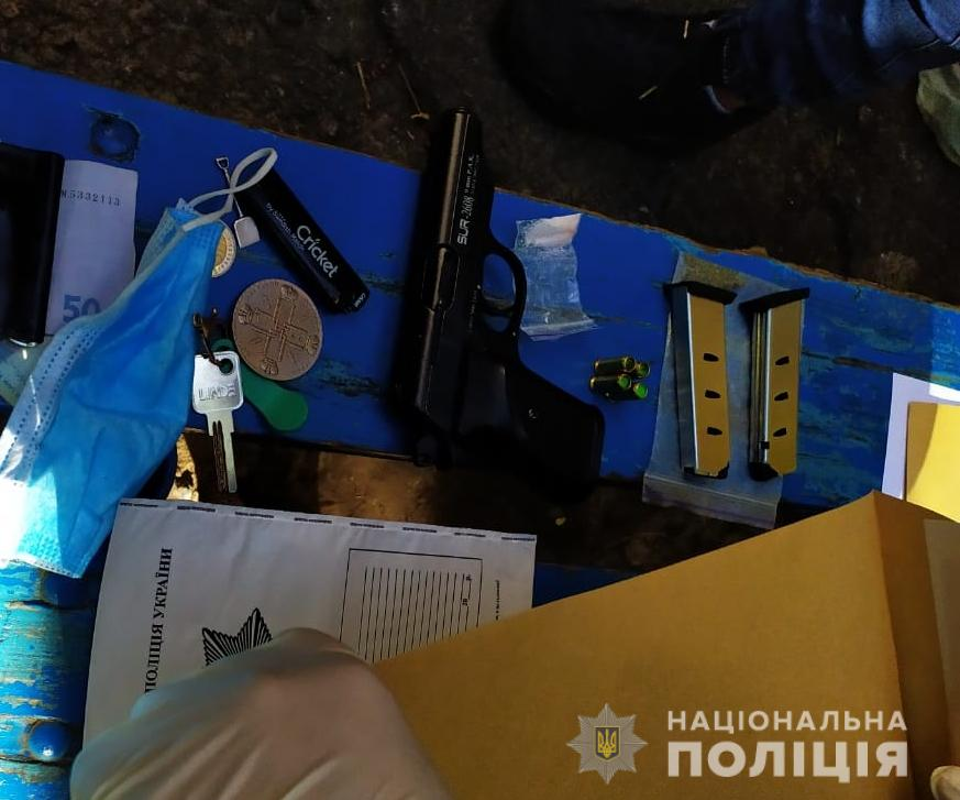 Стрілянина у Білій Церкві - поліція Київської області, наркотики, кримінал, зброя - BTS2 1