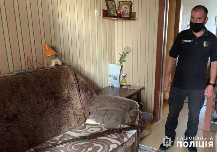 У Білій Церкві пенсіонер стріляв з балкона по людях -  - BTS Polits