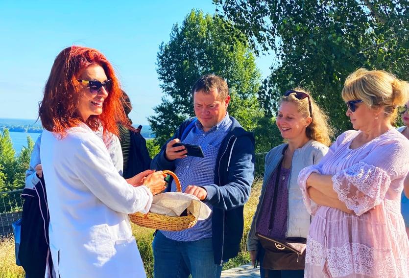 На Вишгородщині розпочалися екскурсійні програми -  - Goncharka hlib vsi