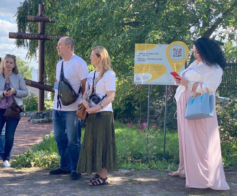 На Вишгородщині розпочалися екскурсійні програми -  - Goncharka hrest