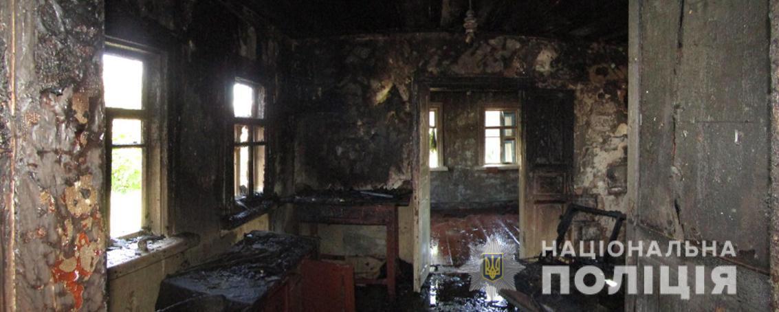 На Вишгородщині чоловік підпалив будинок своєї матері -  - Guta Mezhygirska