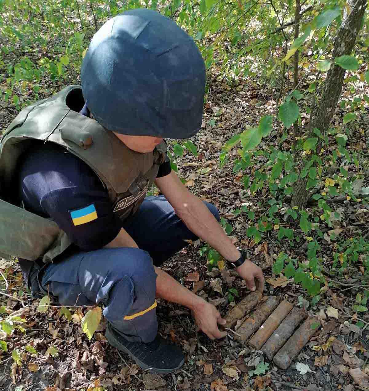 """""""Вибухова"""" знахідка на Білоцерківщині - мінометна міна, ДСНС Київщини, артилерійські снаряди - IMG 6af8e9268627ac4da7a79912cc8f295c V"""