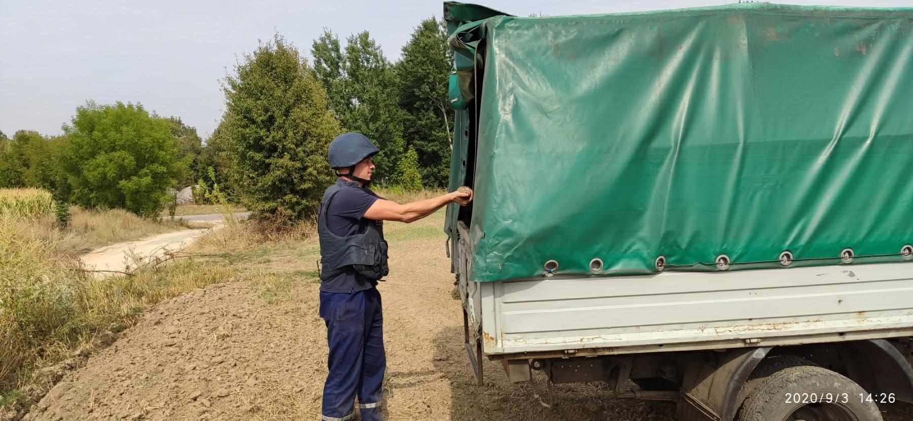 На Київщині виявили та знищили артилерійські снаряди та мінометну міну - Таращанський район, мінометна міна, ДСНС, артилерійські снаряди - IMG 82fa236d9d7981800350cd7ad6d6a9e5 V