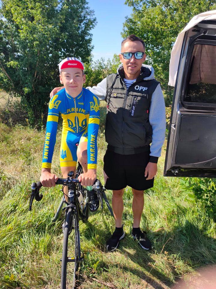 Юний велосипедист із Вишгорода став призером чемпіонату України -  - Laguta2